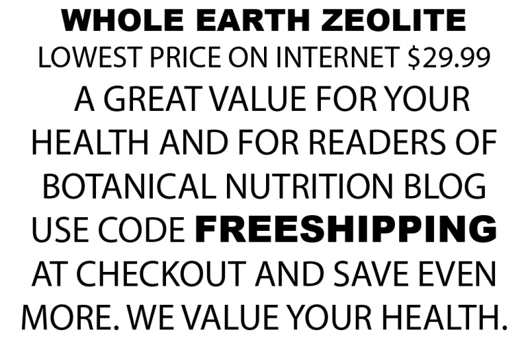 ZEOLITE FREE SHIPPING